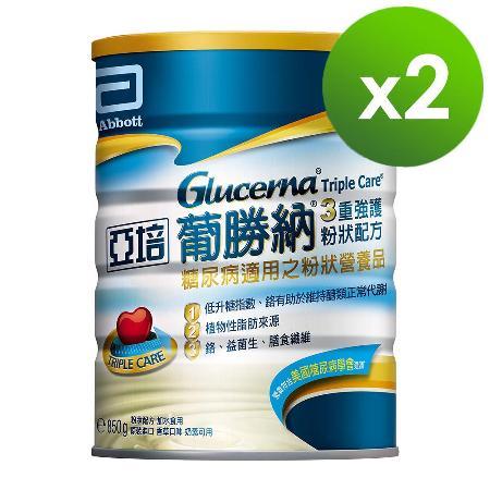 亞培 葡勝納SR粉狀配方-香草口味(850g x 2罐)