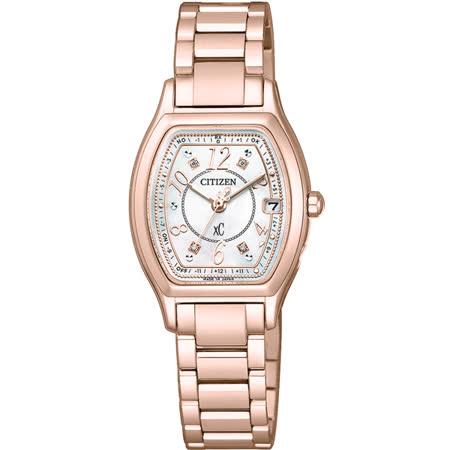 CITIZEN xC 憶戀梵蒂岡電波時計腕錶-ES9356-55W