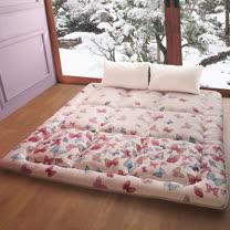 【契斯特】 神戶8cm超厚實純棉日式床墊-單人3尺-多色可選