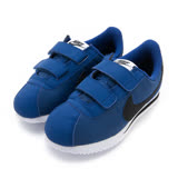 NIKE 童鞋 慢跑鞋 CORTEZ BASIC NYLON (PSV) 藍 -904762402