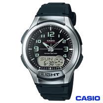 CASIO卡西歐 經典雙顯多功能運動手錶 AQ-180W-1B