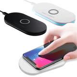 【IS愛思】Qi-P01 底盤式雙線圈快充無線充電板