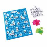 【華森葳兒童教玩具】數學教具系列-120數字拼板 N1-1332