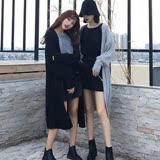 【VINA】韓版壓褶豎條燈籠長袖紋針織外套(款式任選)