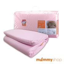 媽咪小站-嬰兒乳膠加厚小床墊(粉)