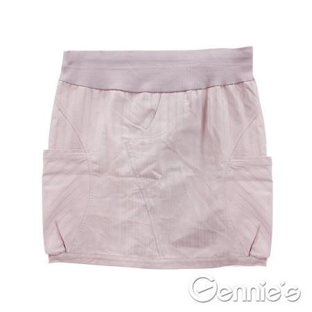 Gennies奇妮-時尚百搭春夏孕婦短裙(四色可選G4763)