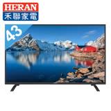 【禾聯HERAN】43吋 液晶顯示器 電視 HF-43DAA  3年保固