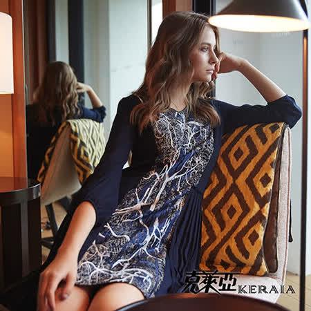 【克萊亞KERAIA】細緻歐洲刺繡短洋裝