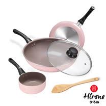 HIRONE<br/>櫻花粉紅3鍋5件組