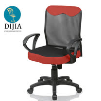 買就送腰枕-蘿拉透氣舒適電腦椅/工作椅/辦公椅/台灣製造(八色)