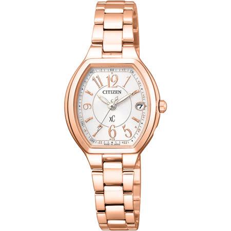 CITIZEN xC 憶戀梵蒂岡電波時計腕錶-ES9362-52W