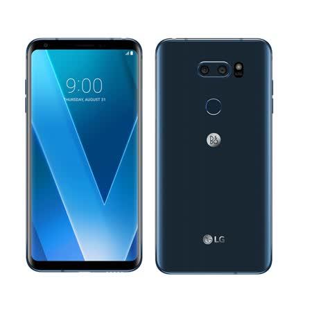 LG V30+  6吋八核心(4G/128G)雙卡智慧型手機LTE- 贈送超輕量造型吹風機+32G卡+藍芽耳機+自拍桿