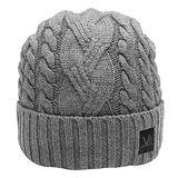 LOUIS VUITTON M70014 TORSADE系列羊毛針織毛帽(灰色)