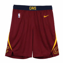 NIKE 男 CLE M NK SWGMN SHORT ROAD 籃球短褲- 866793677