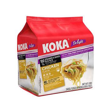 KOKA非油炸雞湯味拉麵340G