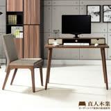 日本直人木業-簡約生活收納書桌(3分鐘簡單組立四隻腳)-搭Tendress北歐美學餐椅