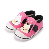 (中小童) DISNEY 米妮印刷帆布鞋 粉 童鞋 鞋全家福