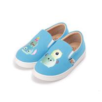 (中小童) DISNEY TsumTsum懶人布鞋 藍 417002 童鞋 鞋全家福
