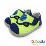 【Dr. Apple 機能童鞋】一起玩吧!熱血籃球小童休閒涼鞋款  綠