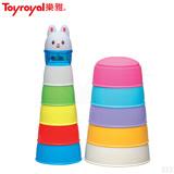 日本《樂雅 Toyroyal》動物繽紛學習杯(10m以上)