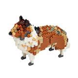 【Tico微型積木】動物狗系列-可麗牧羊犬(T-9404)