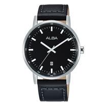 ALBA 石英男錶 皮革錶帶 防水50米 休閒錶 中性錶 AG8H29X1