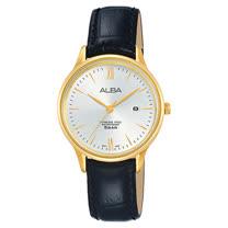 ALBA 精緻淑女 石英錶 皮革錶帶 防水50米 AH7N98X1
