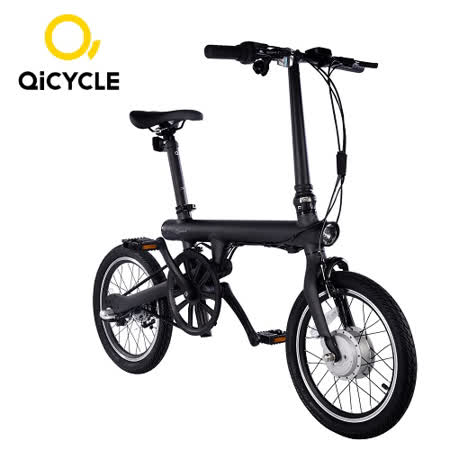 QiCYCLE騎記電助力折疊自行車