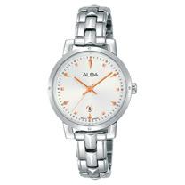 ALBA 精緻石英女錶 不鏽鋼錶帶 防水50米 AH7P55X1