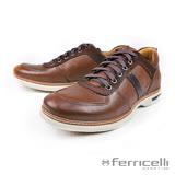 【ferricelli】Mobi最新除臭抗菌男仕休閒鞋  咖啡(F50000-BR/N)