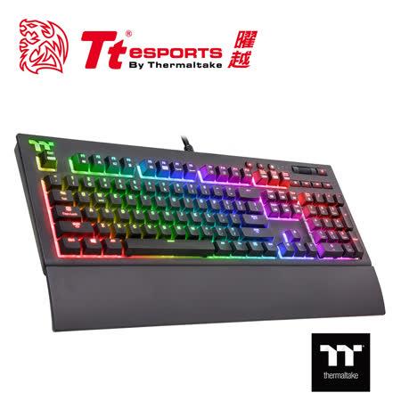 TT Premium X1 RGB Cherry MX機械式銀軸電競鍵盤