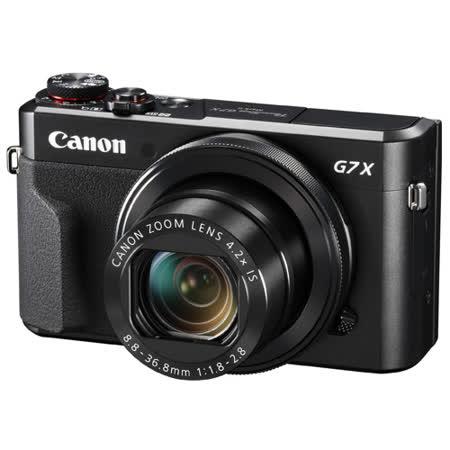 CANON G7X Mark II G7X M2數位相機類單眼(公司貨)贈64G記憶卡+專用電池+戶外輕便三腳架+小型防潮箱+清潔組+讀卡機+軟管小腳架+硬式保貼