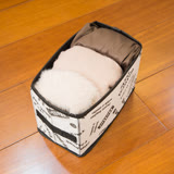 日本ECHO 可摺疊收納箱.淺盒(3+3組)