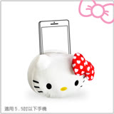 【二入組】Hello Kitty 絨毛公仔手機座 (KT-BAG31)