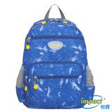 IMPACT-樂學系列-空氣舒壓後背包-星空藍-IM00R05MB