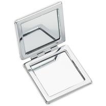 《REFLECTS》方型雙面隨身鏡(白)