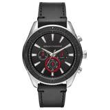 Armani Exchange 隱藏時空三眼腕錶-AX1817