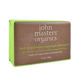 John Masters Organics 樺木雪松潔膚皂128g John Masters Organics Birch & Cedarwood Cleansing & Shaving Bar