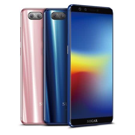 SUGAR S11 6吋四鏡全螢幕手機 【加贈-藍芽喇叭麥克風+單耳藍芽耳機】