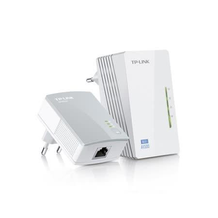 [ 夜殺 ] TP-LINK TL-WPA4220KIT 300Mbps+ AV500 Wi-Fi 電力線網路橋接器 雙包組(Kit) / TL-WPA4220 KIT
