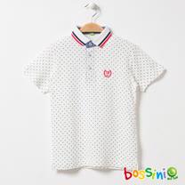 bossini男童-印花短袖POLO衫