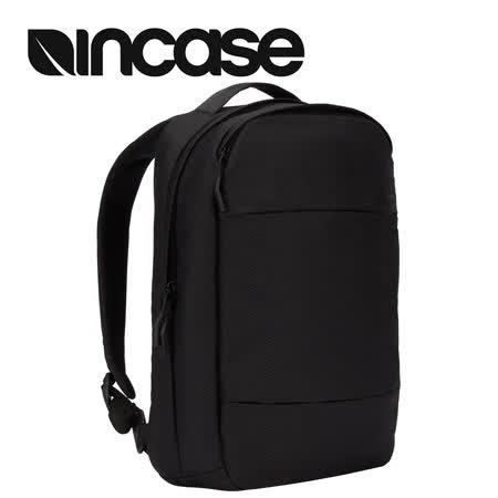 【INCASE】City Compact Backpack with Diamond Ripstop 15吋 城市輕巧筆電後背包 (鑽石格紋黑)