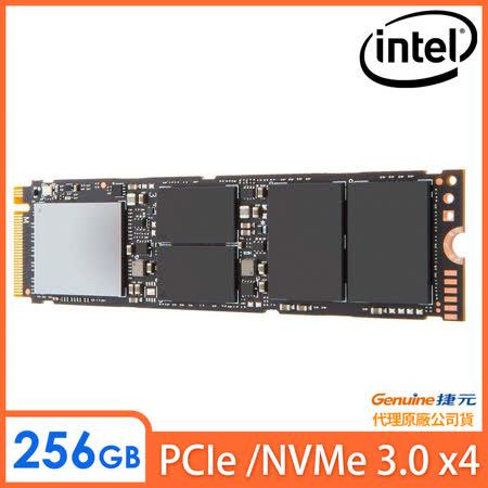Intel 760P系列 256GB M.2 PCIe固態硬碟(SSDPEKKW256G8XT)