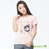 bossini女裝-印花短袖T恤07嫩粉(品特)