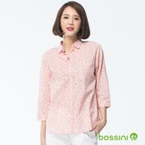 bossini女裝-七分袖造型襯衫