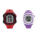 (福利品)Garmin Forerunner 15 三合一運動健身跑錶-紅黑/白紫