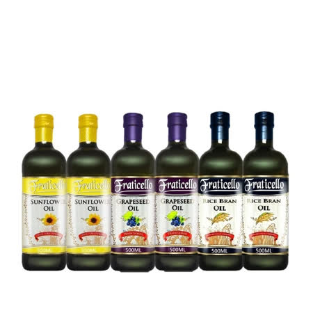 帆圣西欧FRATICELLO 均衡油品500MLx6瓶