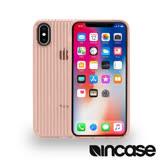 INCASE Protective Guard iPhone X 條紋彈性背蓋 (玫瑰金)