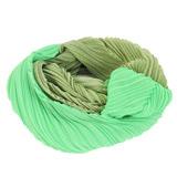 ISSEY MIYAKE 三宅一生 PLEATS PLEASE 雙色漸層O型圍巾(綠)