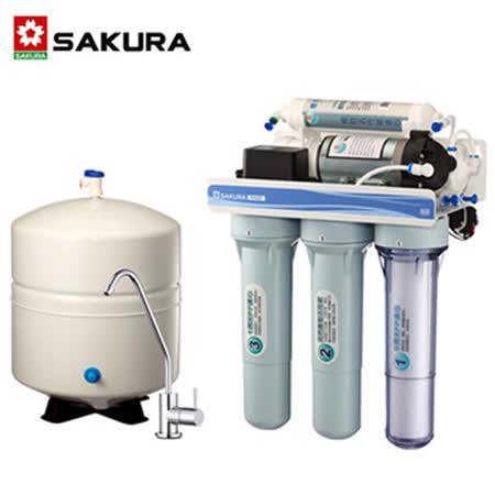 【促销】SAKURA樱花 经济纯净型RO净水器P022/P-022 - 北北基地区附配送及安装